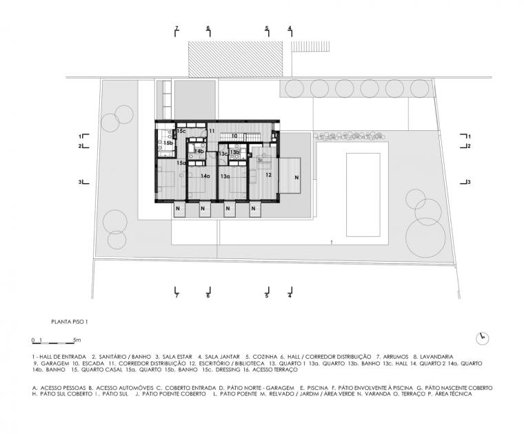 葡萄牙VA别墅平面图-葡萄牙VA别墅第13张图片