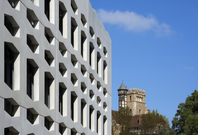 德国纽特拉大楼外部细节实景图-德国纽特拉大楼第14张图片