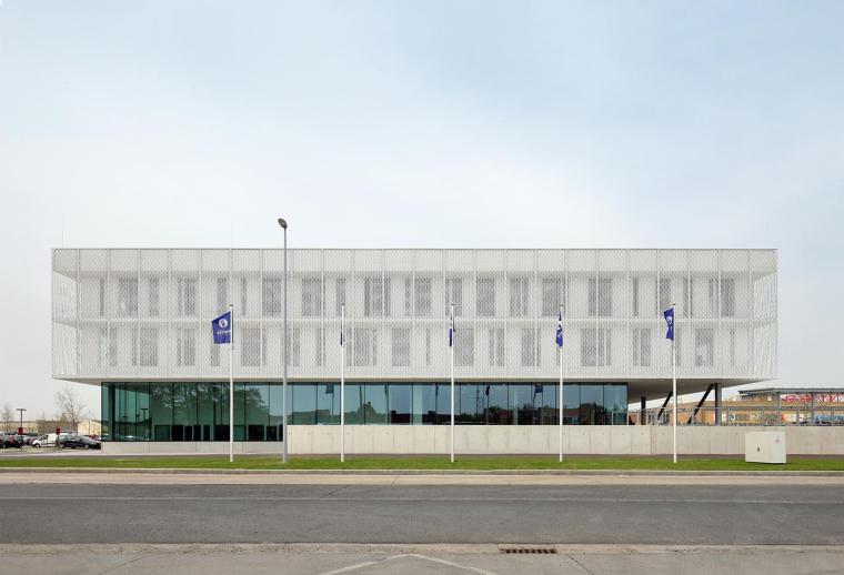 比利时布鲁日警察局外部实景图-比利时布鲁日警察局第2张图片