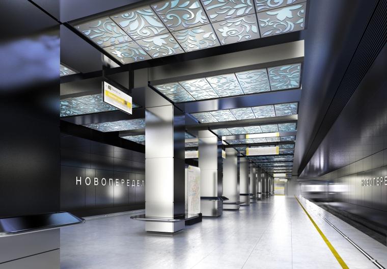 俄罗斯Novoperedelkino地铁站内部-俄罗斯Novoperedelkino地铁站第8张图片