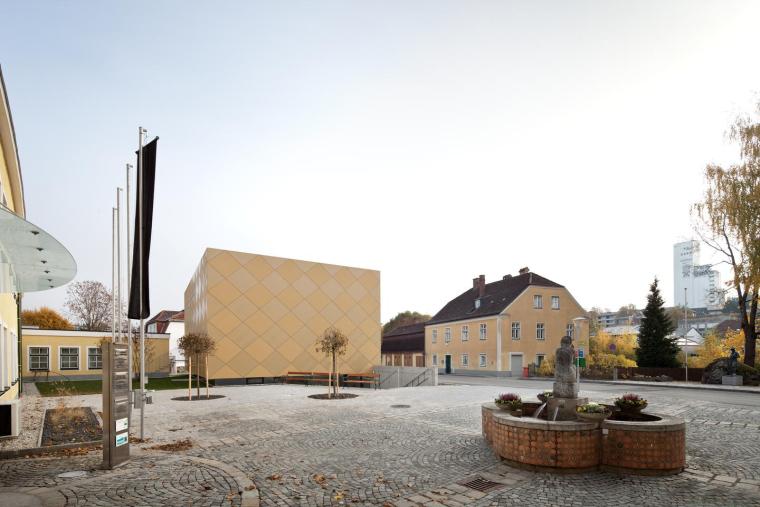 奥地利茨韦特尔音乐协会外部实景-奥地利茨韦特尔音乐协会第2张图片