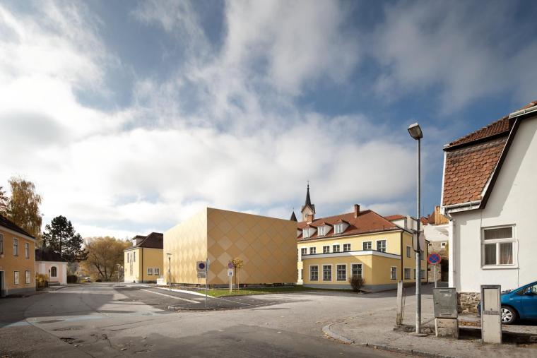 奥地利茨韦特尔音乐协会外部实景-奥地利茨韦特尔音乐协会第3张图片
