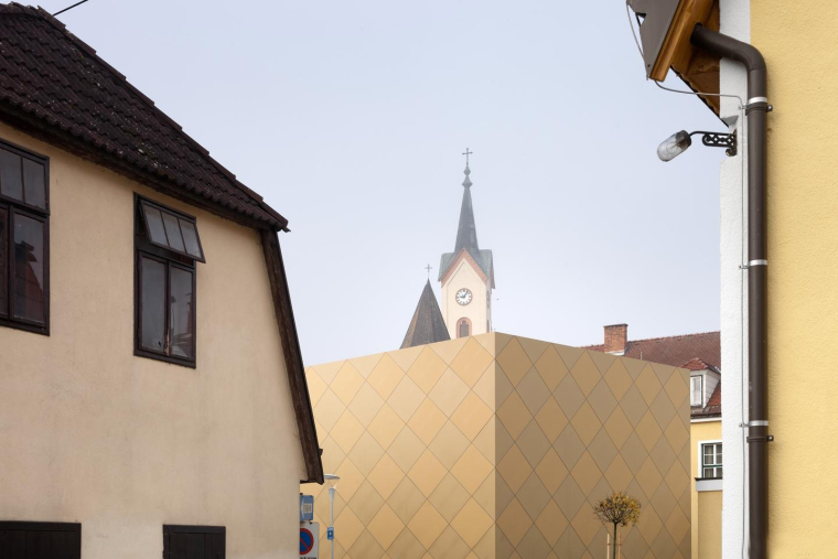 奥地利茨韦特尔音乐协会外部局部-奥地利茨韦特尔音乐协会第9张图片