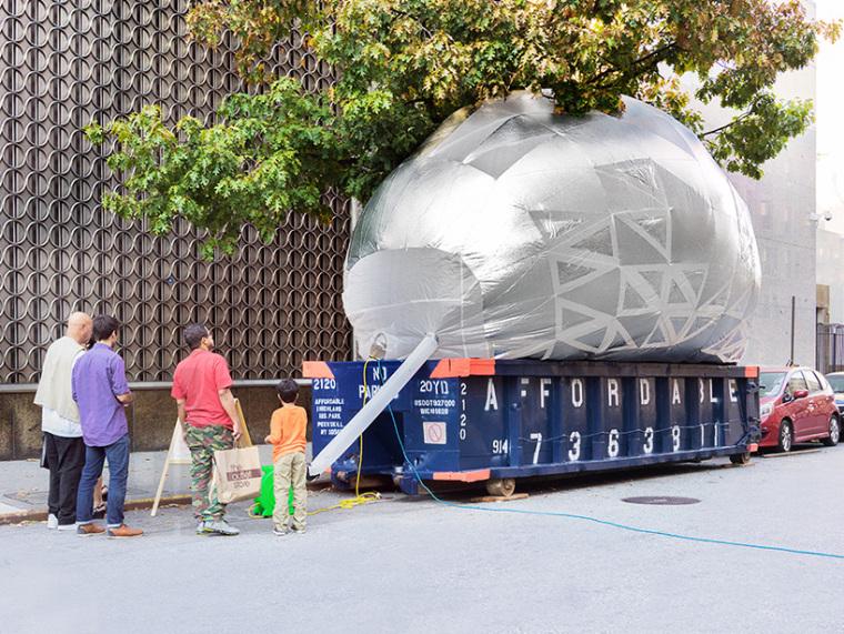 美国充气式城市教育教室外部实景-美国充气式城市教育教室第3张图片