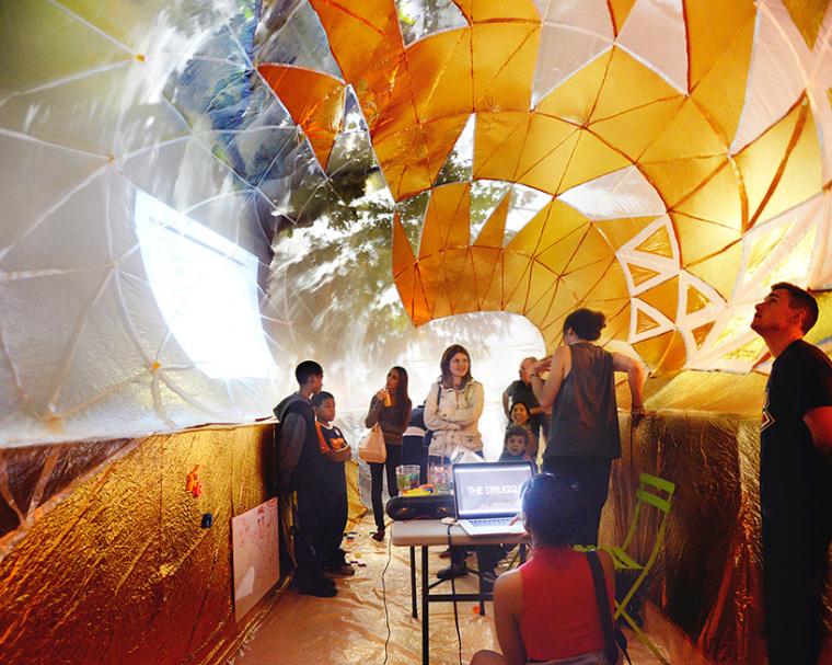 美国充气式城市教育教室内部实景-美国充气式城市教育教室第7张图片