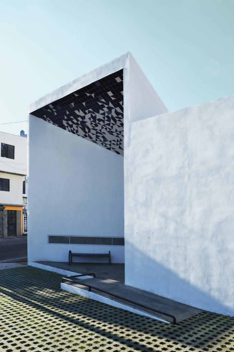 墨西哥CasadelasIdeas图书馆-墨西哥Casa de las Ideas图书馆外-墨西哥Casa de las Ideas图书馆第8张图片