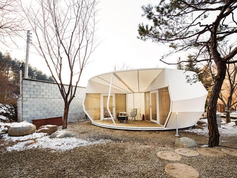 韩国奢华露营帐篷第1张图片