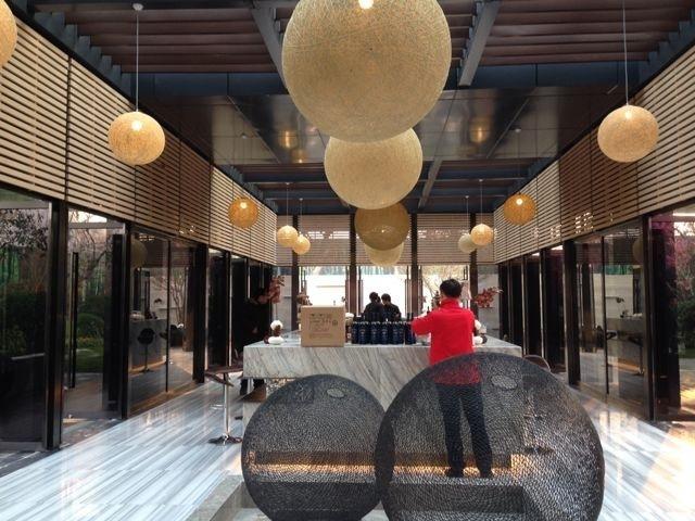河南郑州万科城售楼中心改造内部-河南郑州万科城售楼中心改造第7张图片