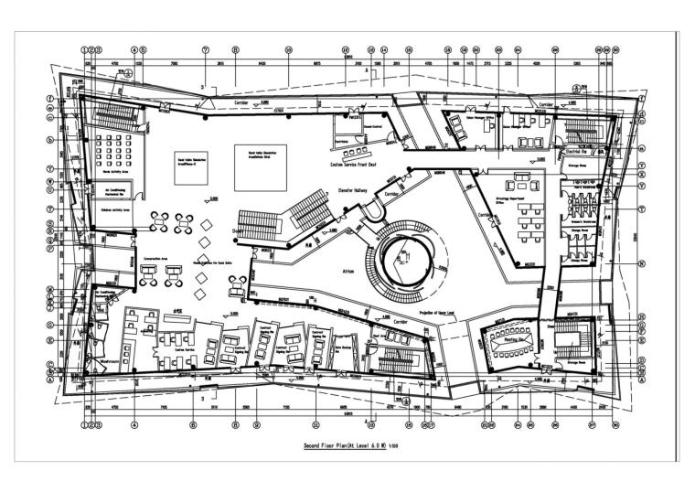 河南郑州万科城售楼中心改造平面-河南郑州万科城售楼中心改造第11张图片