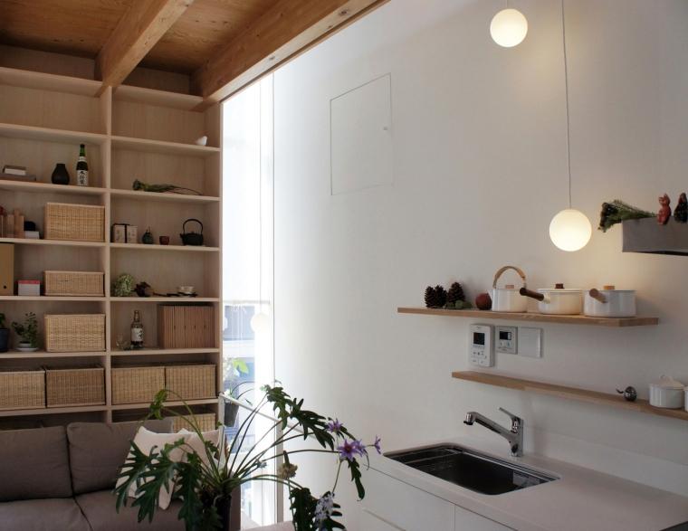 日本白色椴树公寓内部局部实景图-日本白色椴树公寓第7张图片