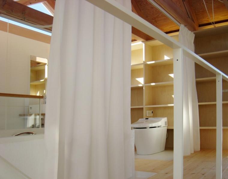 日本白色椴树公寓内部细节实景图-日本白色椴树公寓第13张图片