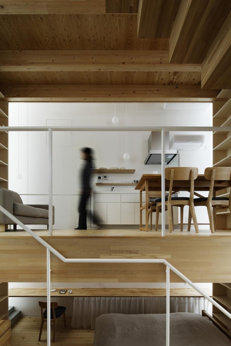 日本白色椴树公寓内部细节实景图-日本白色椴树公寓第16张图片