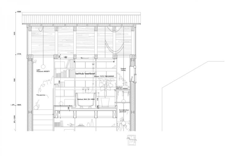 日本白色椴树公寓剖面详图-日本白色椴树公寓第27张图片