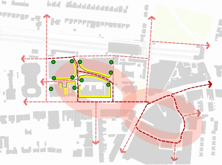 英国伊林狄更斯广场平面图-英国伊林狄更斯广场第5张图片