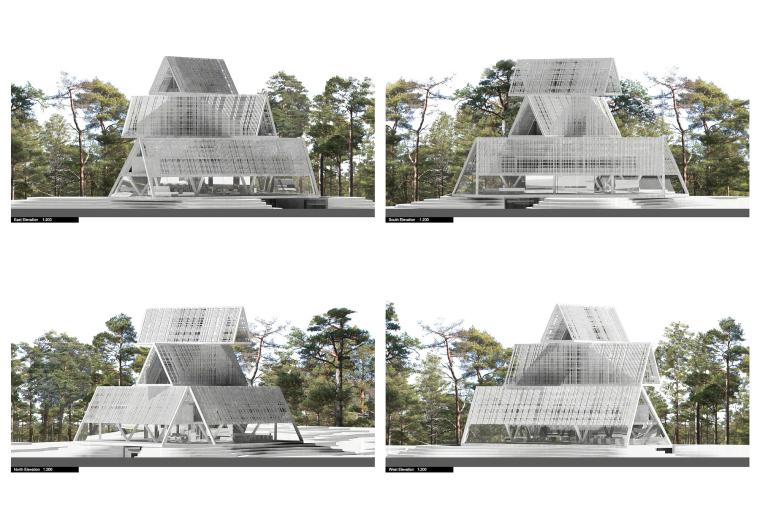 爱沙尼亚ArvoPärt中心-爱沙尼亚Arvo Pärt中心模型图-爱沙尼亚Arvo Pärt中心第13张图片