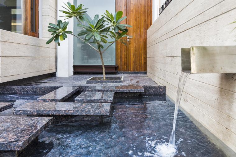 印度莫哈利别墅内部空间实景图-印度莫哈利别墅第5张图片