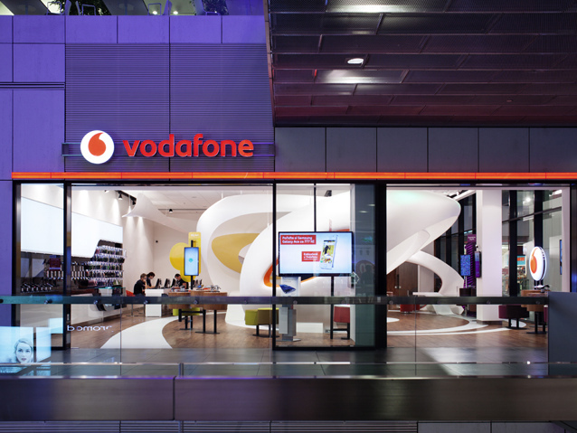 捷克Vodafone data商店