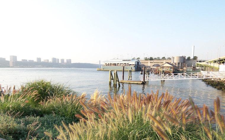 美国西哈莱姆码头公园外部局部实-美国西哈莱姆码头公园第7张图片