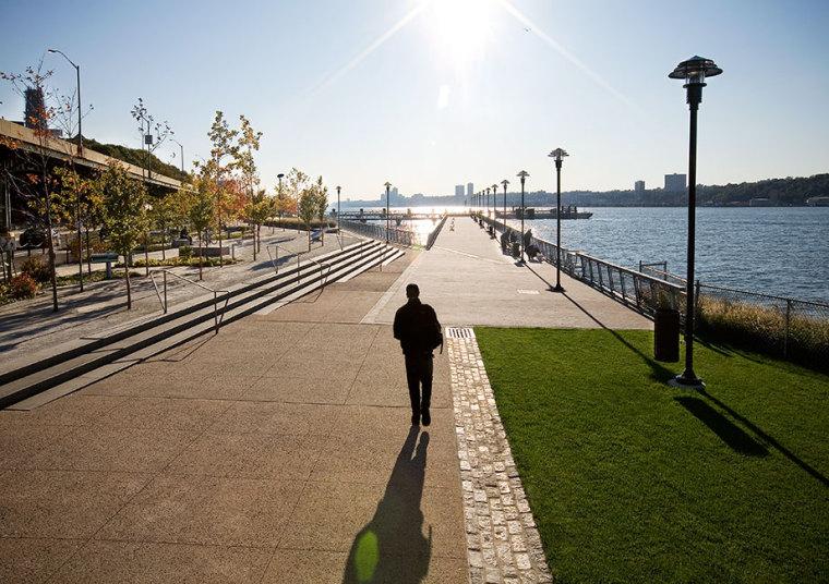 美国西哈莱姆码头公园外部局部实-美国西哈莱姆码头公园第9张图片