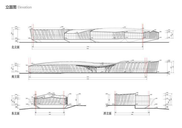阿里巴巴展示中心剖面图-阿里巴巴展示中心第12张图片