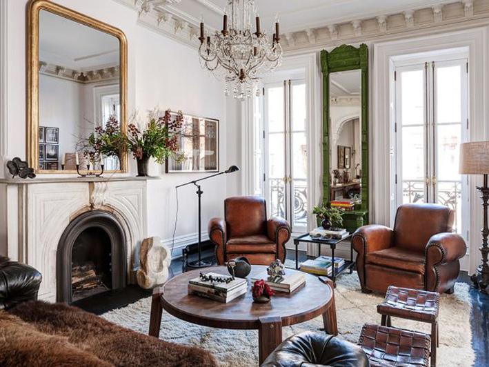 美国布鲁克林新古典主义住宅