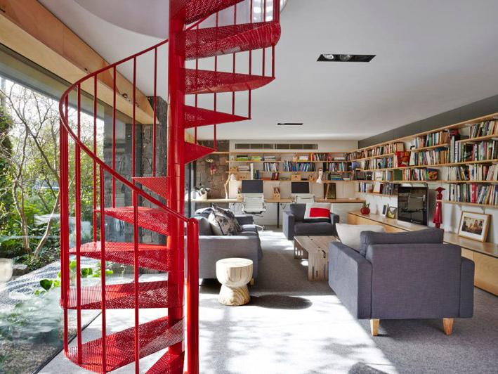 哥特式建筑改造的住宅