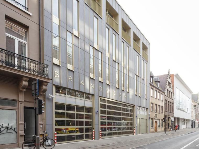 比利时安特卫普城市消防站