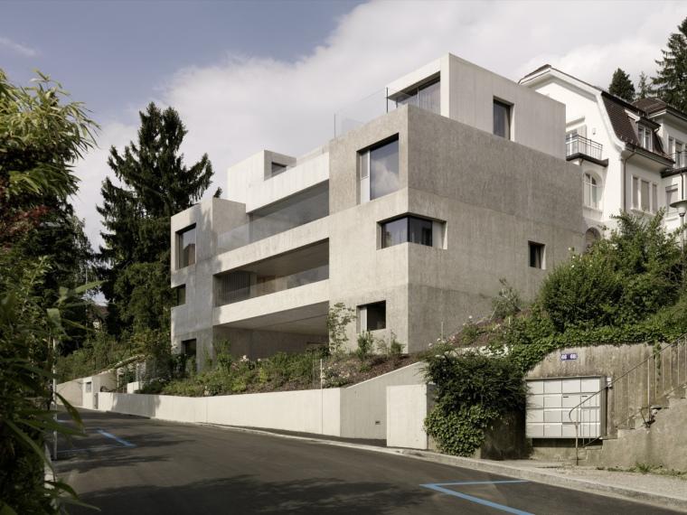 瑞士苏黎世H公寓楼