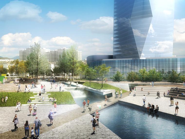 韩国釜山北港海滨公园设计方案
