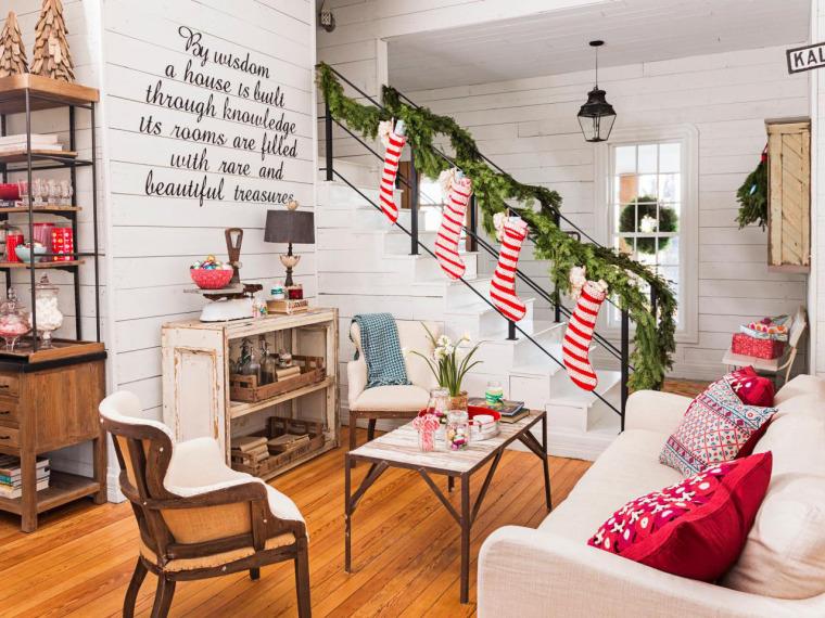 国外圣诞节30款创意室内装饰