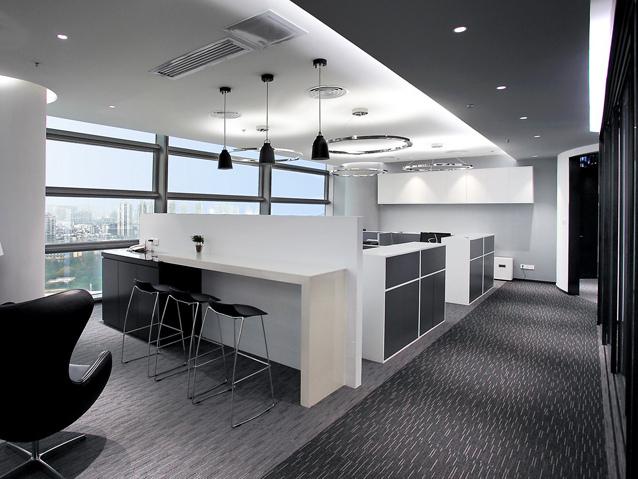 深圳富邦投资公司办公室设计