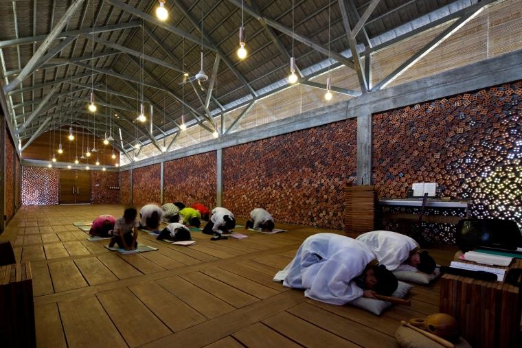 柬埔寨圆佛教寺院内部实景图-柬埔寨圆佛教寺院第14张图片