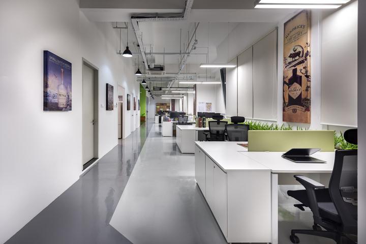 新加坡William公司办公室室内过道-新加坡William公司办公室第2张图片