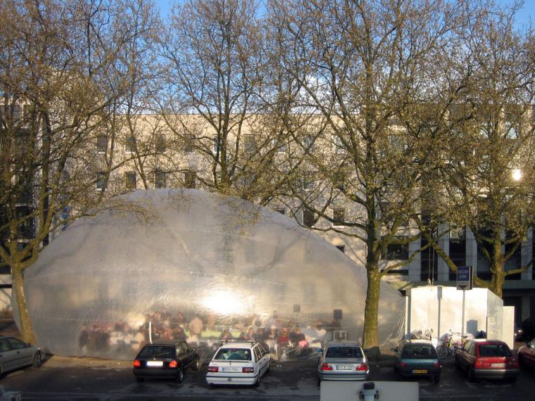 德国厨房移动式公共雕塑