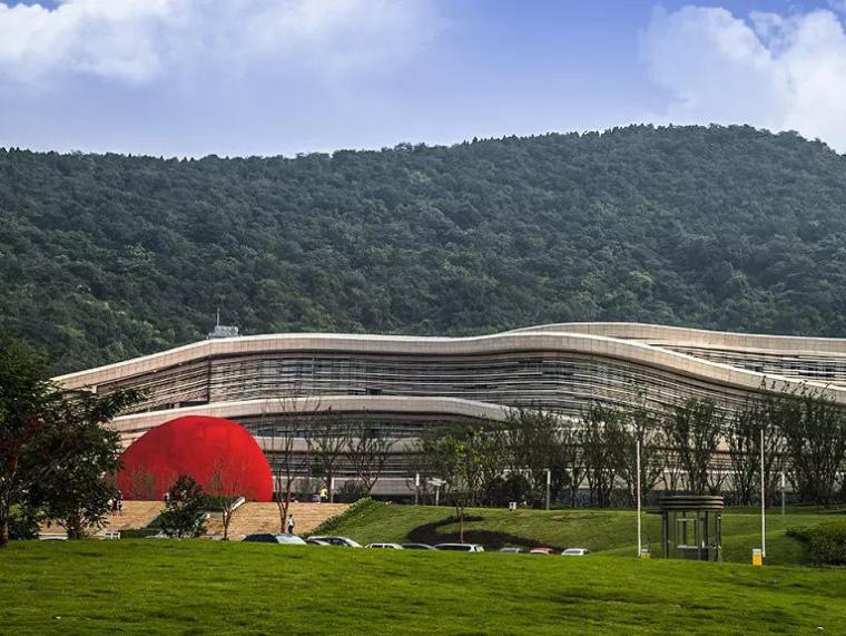 南京汤山直立猿人博物馆广场景观