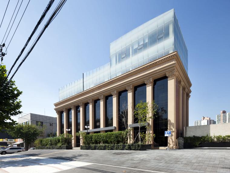 韩国庆熙大学建筑改造