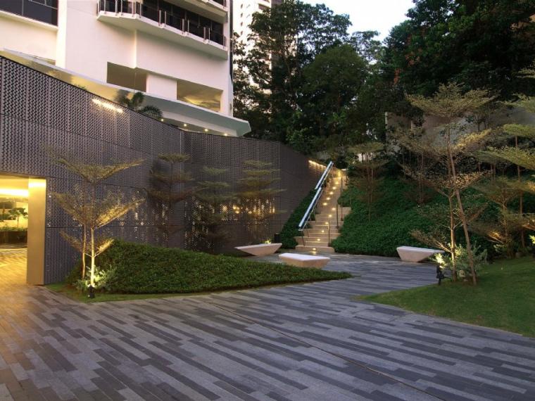新加坡The Tate高层住宅景观