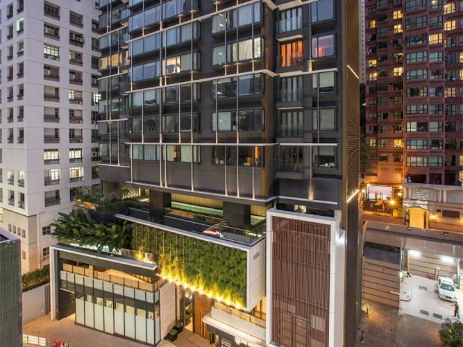 香港臻环住宅塔楼