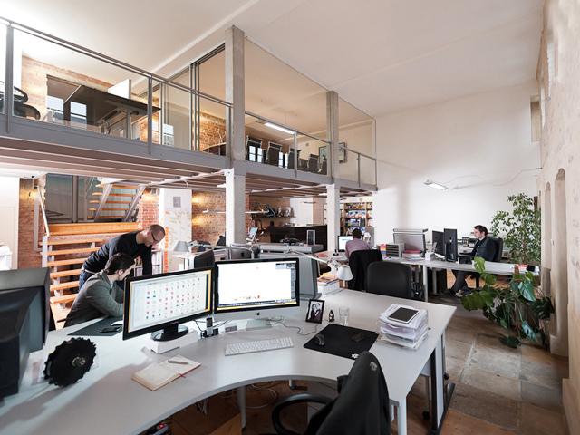 德国4c media公司办公室