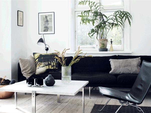 简洁明亮的公寓