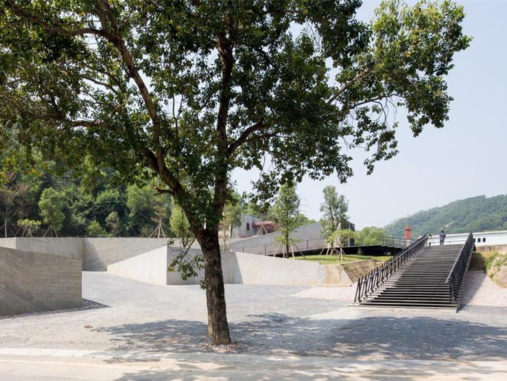 中国鸿华印染厂入口改造设计