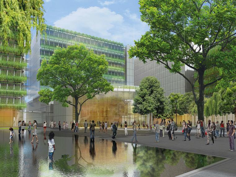 江南布衣杭州总部植物园建筑设计