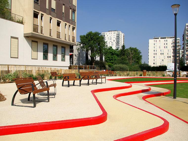 法国阿尔福维尔儿童游乐场