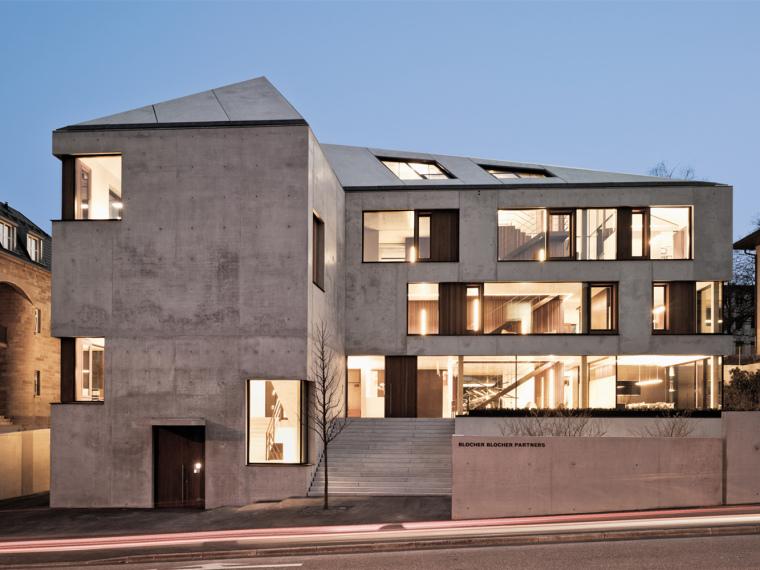 ibm斯图加特总部大楼资料下载-德国斯图加特办公大楼