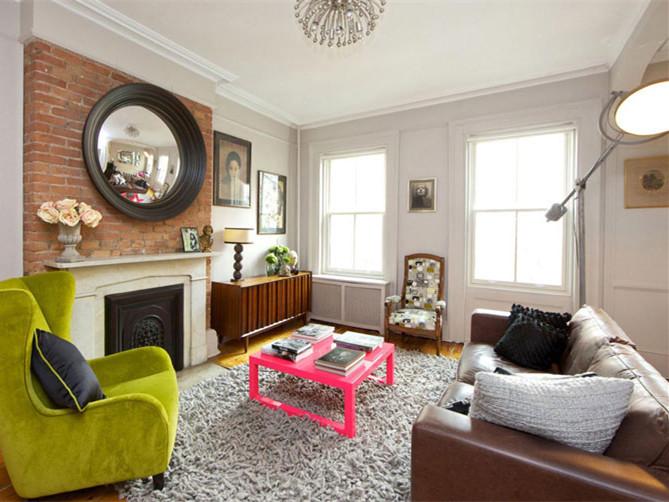 色彩明快的别墅室内装饰