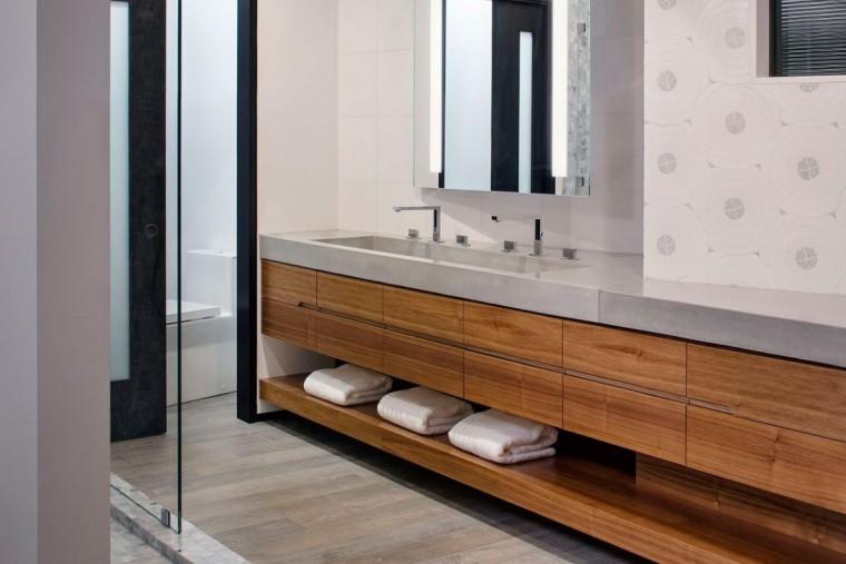 美国拉古娜滨海豪宅室内浴室实景-美国拉古娜滨海豪宅第23张图片