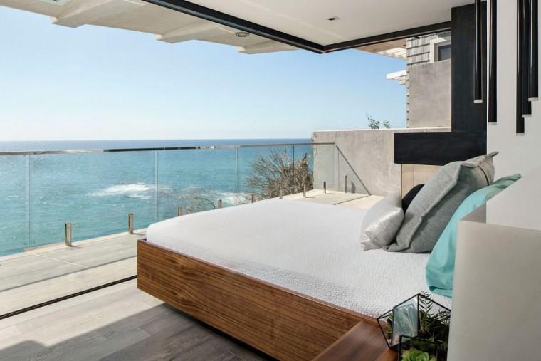 美国拉古娜滨海豪宅室内卧室实景-美国拉古娜滨海豪宅第5张图片