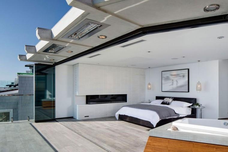 美国拉古娜滨海豪宅开放式卧室实-美国拉古娜滨海豪宅第2张图片