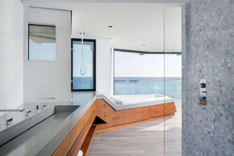 美国拉古娜滨海豪宅室内浴室实景-美国拉古娜滨海豪宅第24张图片