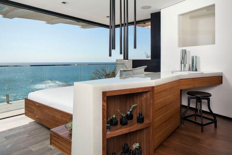 美国拉古娜滨海豪宅室内卧室实景-美国拉古娜滨海豪宅第4张图片